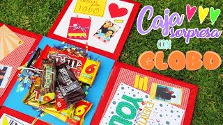 Download CAJA SORPRESA CON GLOBO ❤️ + MEGA SORTEO Y COLABORACION !! Video