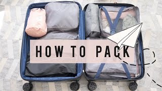 Download Travel Tips on How To Pack Light | ANN LE ✈ Video
