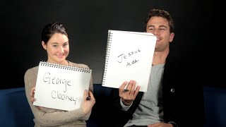 Download Shailene Woodley And Theo James Play The BuzzFeed BFF Game Video