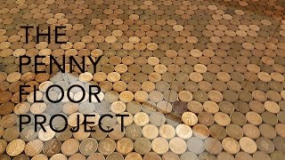 Download UK Penny Floor Project | Using 27,000 1 penny coins and creating a copper penny floor. Video
