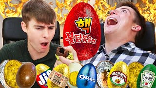 Download MYSTERY EASTER EGG FILLING CHALLENGE!! Video