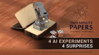 Download 4 Experiments Where the AI Outsmarted Its Creators | Two Minute Papers #242 Video
