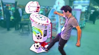 Download You've Never Seen Arcade Games Like This! Playing Arcade Ticket Games at IAAPA 2019 Video
