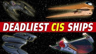 Download 5 Deadliest Seperatist (CIS) Star Fighters | Star Wars: Top 5 Video