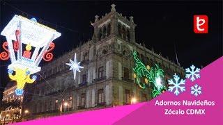Download Pista de Hielo y adornos del Zócalo CDMX 2016 | edemx Video