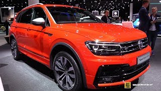 Download 2018 Volkswagen Tiguan Allspace R-Line TDI - Exterior Interior Walkaround - 2017 Frankfurt Auto Show Video