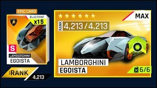 Download ASPHALT 9 - MAXING LAMBORGHINI EGOISTA (4213 MAX RAITING) WOULD COST HOW MUCH?? & PACK OPENING Video