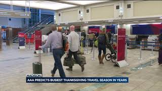 Download Dane County Airport readies for predicted busiest Thanksgiving in years Video