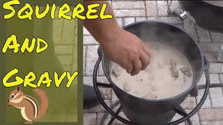 Download The Best Way to Cook Squirrel - Smother Fried Squirrel and Gravy in the Dutch Oven Video