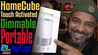 Download HomeCube Bedside Dimmable Multicolor LED Lamp 💡 : LGTV Review Video