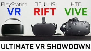Download PlayStation VR vs Oculus Rift vs HTC Vive - Which One is Best? Video
