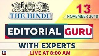 Download The Hindu | Naxal Problem & Indian History during World War | 13 Nov | UPSC, RRB,Bank, IBPS, SSC Video
