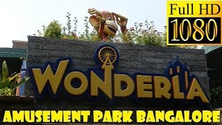 Download Wonderla Amusement Park Bangalore || All Attractions in 14 Minutes || HD Video