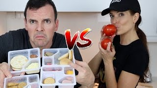 Download LUNCHABLES vs REAL FOOD Video
