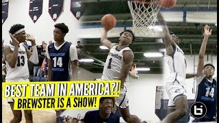Download Jalen Lecque's Bounce Is INSANE!! Brewster Academy the BEST TEAM in America?! J.Mashburn Jr Poster! Video