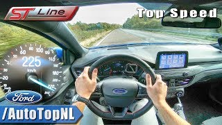 Download FORD FOCUS ST LINE 2019 1.5 TURBO 184HP AUTOBAHN POV TOP SPEED by AutoTopNL Video