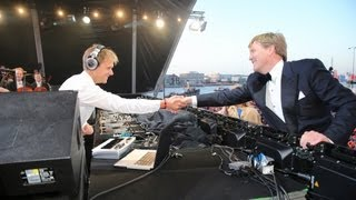 Download Armin van Buuren & The Royal Concertgebouw Orchestra perform for new Dutch king Willem-Alexander Video