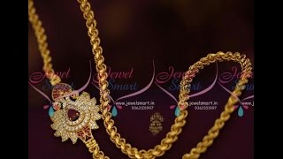 Download Thali Chain Designs with Side Mugappu Mangalsutra chain designs Video