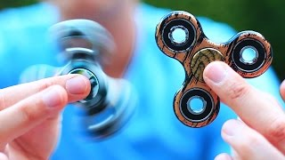 Download PRO FIDGET SPINNER TRICKS (very cool) Video