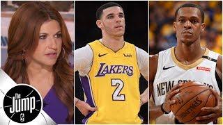 Download Lakers starting PG debate: Lonzo Ball or Rajon Rondo?   The Jump   ESPN Video
