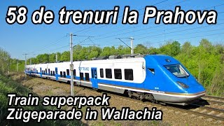 Download 58 de trenuri la Prahova pe M1000-Train superpack-Zügeparade in Wallachia Video