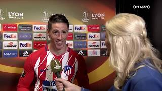 Download Fernando Torres talks about his next move after his final big game for Atletico Madrid Video