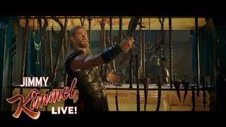 Download Chris Hemsworth Shares EXCLUSIVE Thor: Ragnarok Clip Video