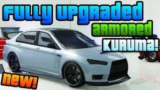 Download GTA Online: Brand New ″Heists″ DLC Sports Car! - Fully Upgraded ″Armored Kuruma″ (GTA 5 Heists DLC) Video