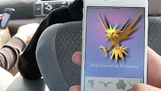 Download Zapdos, Articuno & Moltres In Pokemon GO Video