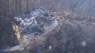 Download Gatlinburg Sky Lift Damaged in Wildfires Video