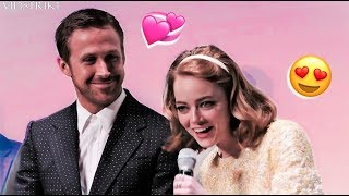 Download Emma Stone Can't Stop Flirting with Ryan Gosling Video