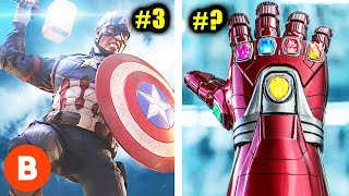 Download Marvel's Most Powerful Weapons Ranked Video