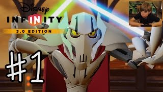 Download Disney Infinity 3.0: INTRO + Twilight of the Republic #1 | GENERAL GRIEVOUS | KID GAMING Video