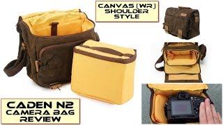 Download Caden N2 Water-resistant Canvas Shoulder Camera Bag: Review Video