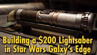 Download We Built a $200 Lightsaber at Star Wars: Galaxy's Edge | Disneyland Video