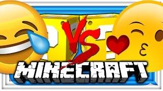 Download Minecraft: 😬EMOJI LUCKY BLOCK 😂CHALLENGE | EMOTE BATTLE! 😁 Video