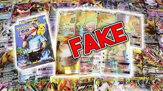 Download FAKE POKEMON CARDS - Pokemon GO Cards? Fake Hyper Rares? SO MANY MEGAS Video