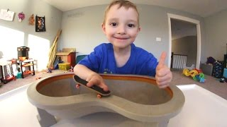 Download Father & Son GET FUN NEW FINGERBOARD POOL! Video
