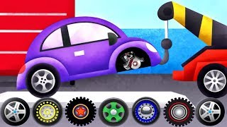 Download Cars & Trucks - Tow Trucks For Kids | Emergency Vehicles Trucks - by Duck Moose| Videos for Children Video