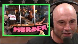 Download Joe Rogan - Butchering Deer In Front of Vegan Protestors Video