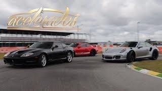 Download FERRARI 575 M MARANELLO x PORSCHE GT3 x GT3 RS - VOLTA RÁPIDA #106 | ACELERADOS Video