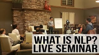 Download FREE NLP Training - Live Seminar with Demonstrations Video