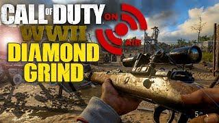 Download CALL OF DUTY WW2 PS4 LIVE STREAM - DIAMOND SNIPER GRIND - WW2 DIAMOND CAMO Video