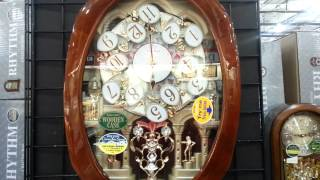 Download Fascinating Musical wall clocks by Rythm Video
