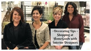 Download Decorating Tips - Shopping At HomeGoods With Interior Designers 2018| The2Orchids Video