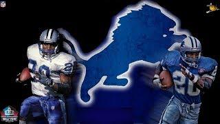 Download Barry Sanders (Best Running back in NFL History) NFL Legends Video