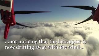 Download DJI F550 Hexacopter crash after flight above the clouds Video
