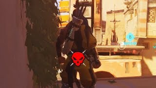 Download AFK Hanzo Gets A Double Kill - Overwatch Bronze Moments #28 Video