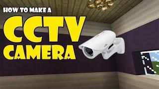 Download CCTV CAMERA tutorial | Minecraft PE (Pocket Edition) MCPE Video