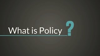 Download What is Policy? Video